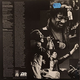 jimi hendrix collector vinyls lp album/otis redding jimi hendrix experience historic performance atlantic records germany 1970