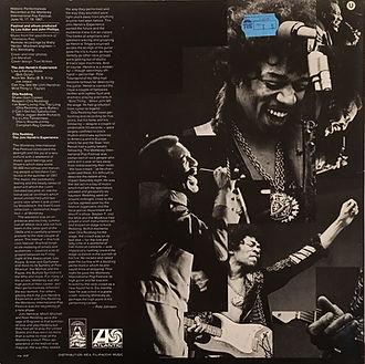 jimi hendrix collector vinyls lp album/otis redding jimi hendrix experience historic performance atlantic records germany 1970