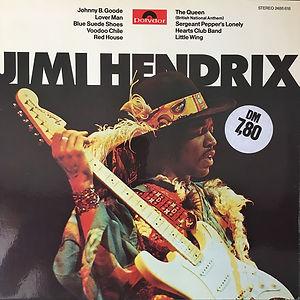 jimi hendrix album vinyl LPs / jimi hendrix  (in the west) 1975