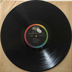 jimi hendrix vinyl album lp/get that feeling 1967