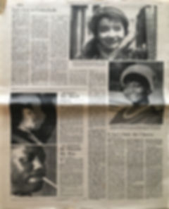 jimi hendrix newspaper /the new york times black elvis 25/2/68