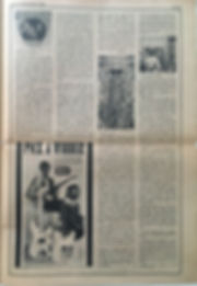 jimi hendrix newspaper/rolling stone 6/4/68 review : axis bold as love