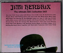 jimi hendrix collctor bootlegs cds/the ultimate bbc collection 1967