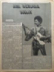 jimi hendrix newspaper 1969/go : october 3, 1969 / jimi hendrix soulin'