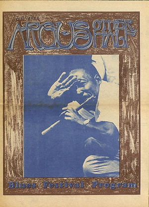 jimi hendrix newspaper 1969/new arbor argus other half