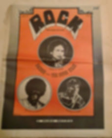 jimi hendrix newspapers 1969/rock newspaper september 29, 1969, hendrix at salvation