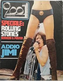 jimi hendrix magazines 1970 death :ciao 2001 / september 30  1970
