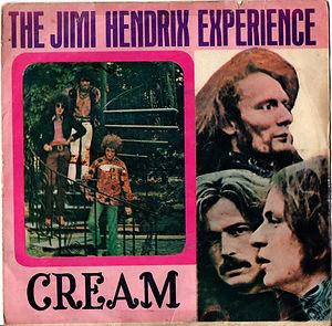 jimi hendrix collector EP vinyls 45r/crosstown traffic gypsy eyes thailland 1969 ruby records