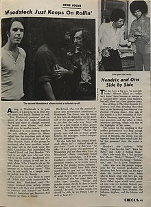 jimi hendrix magazines 1970 death/ circus october 70 1970 /hendrix and otis side by side
