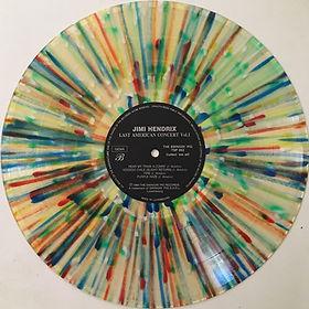 jimi hendrix bootlegs vinyls 1970 / swingin' pig :  last american concert vol 1 / multicolour / side b