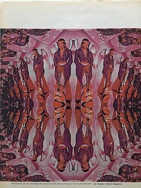 jimi hendrix magazines /life october 3, 1969/an infinity of jimis