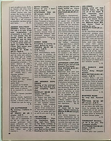jimi hendrix collector magazine/reviews from burning of the midnight lamp