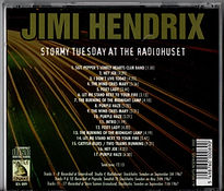 jimi hendrix collector cd bootlegs/ stormy tuesday at the radiohuset /rattle snake/ 2002
