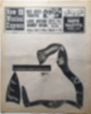 jimi hendrix newspaper 1968/new musical express november 2 1968