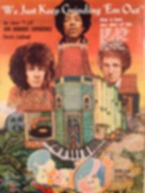 hendrix rotily memorabilia/record plant 1968