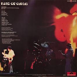 jimi hendrix collector vinyls LPs/album/band of gypsys 1981