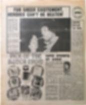 jimi hendrix newspaper/disc music echo 13/4/68