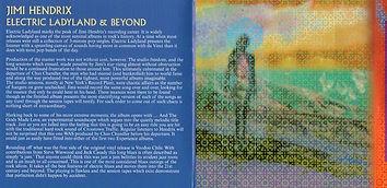 jimi hendrix cd bootlegs/electric ladyland & beyond