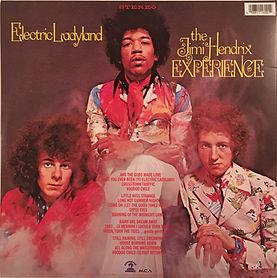 jimi hendrix collector vinyls/lps/electric ladyland 1997