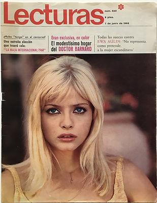jimi hendrix magazine/lecturas 7 junio 1968