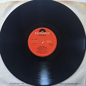 jimi henrix album vinyl lps/isle of wight side A