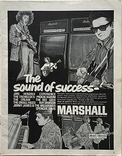 jimi hendrix magazine/beat instrumental / hendrix's mystery man / janurary 1968