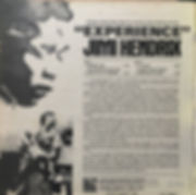 jimi hendrix album vinyls/experience brazil 1971