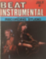 jimi hendrix magazines 1970 / beat instrumental  july 1970