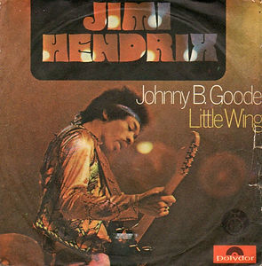 jimi hendrix singles vinyls/johnny b.goode/little wing yugoslavia