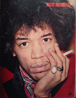 jimi hendrix magazine/muziek express june 1967