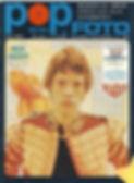 jimi hendrix magazine/pop foto june 1967