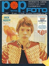 jimi hendrix magazine/pop foto june 1967