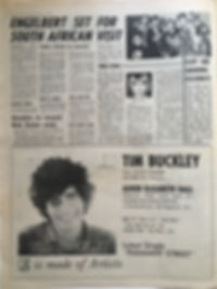 jimi hendrix newspaper/melody maker 5/10/68 hendrix to record bob dylan song.
