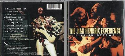 jimi jhendrix bootlegs cd/live in ottawa 2001