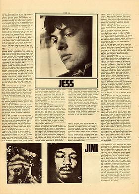 jimi hendrix newspapr 1968/superlove june 1968