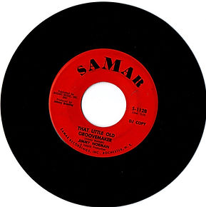 jimi hendrix collector singles vinyls 45/that little old groovemaker/jimmy norman/samar records 1966
