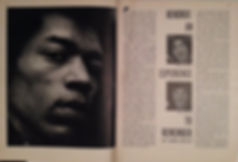 jimi hendrix magazine/music maker 6/67