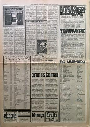 jimi hendrix colector newspaper/hit week N°10  24/11/1967
