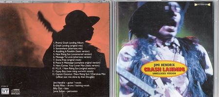 jimi hendrix bootlegs cds 1969/crash landing unreleased version