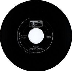 jimi hendrix collector vinyls singles 45t/gypsy eyes  track record england 1968