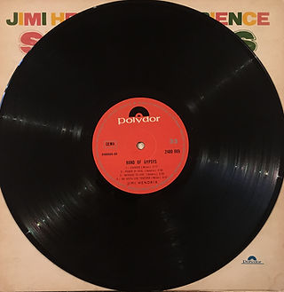 jimi hendrix rotily vinyls collector. band of gypsys turkey  1970