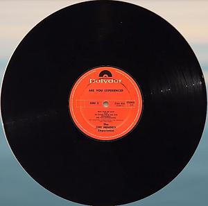 jimi hendrix vinyls 1967/ are you experienced n.z 1972