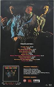 jimi hendrix memorabilia/ad france smash hits 2002