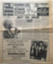 jimi hendrix newspaper 1969/new musical express january 11 1969