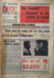 jimi hendrix collector newspaper / 15 a 20 ans dans le vent /15 november from 15 december 1967 jimi hendrixconcert olympia paris 1967