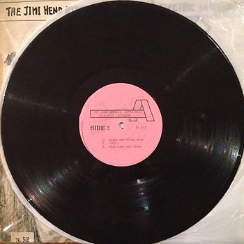 jimi hendrix vinyl album / side 3 / electric ladyland korea south