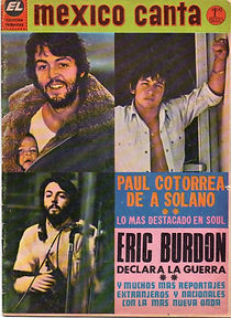 jimi hendrix collector magazines 1970/ mexico canta december 19, 1970