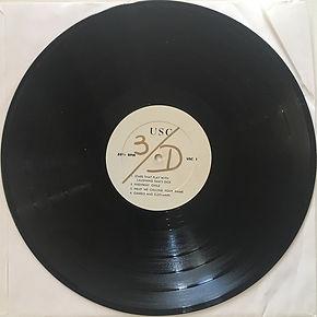 jimi hendrix bootlegs vinyls 1970 /  jimi hendrix/clapton/mayall/bruce/baker  3/D side 1