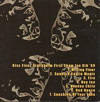 jimi hendrix box cd bootleg/astro man disc 5