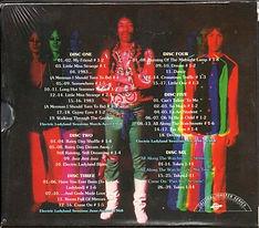 jimi hendix boc 6cds/naked ladyland/gold cd